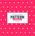 Pink polka dots pattern background
