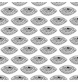 seamless pattern with ornamental eyes vector image vector image