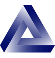 triangle figure icon for vector image