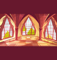 ballroom or palace windows vector image vector image