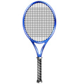 Blue racquet for tennis or squash vector image vector image