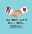 Business Handshake vector image