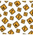 Color diamond caution emblem to industry