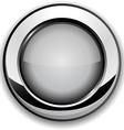 Gray button vector image