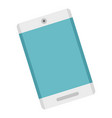 modern smartphone icon flat style vector image vector image
