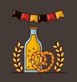 oktoberfest germany celebration vector image vector image