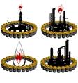 Petroleum business-8 vector image vector image