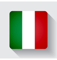 web button with flag italy vector image vector image