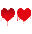 Bleeding Heart vector image