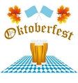 Card Oktoberfest festival vector image vector image