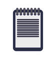 clipboard document symbol vector image vector image