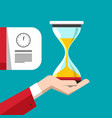 Hourglass symbol sand clock icon time measurement