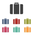 Riefcase icons set vector image vector image