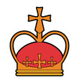 royalty crown icon image vector image vector image