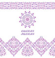 seamless arabic patterns for border