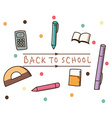 study education vector image