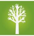 hands tree vector image