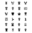 Award and Medal Icons 3 vector image vector image
