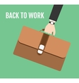 back to work vector image