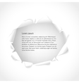 background Torn paper with copy space for text vector image