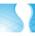 blue background - wave vector image vector image
