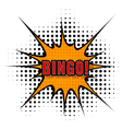 Cartoon bingo vector image vector image