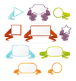 collection web banners vector image