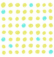 cute green and blue dots background vector image vector image