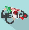 Mexico Typography Design vector image vector image