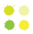 Paint Spots Or Blots vector image vector image