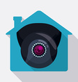 Smart house design vector image vector image