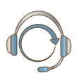 headphone service repair icon vector image vector image