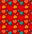 Heart pattern design vector image vector image