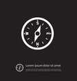 isolated compass icon direction element vector image vector image