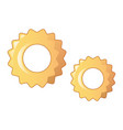 ruote pasta icon cartoon style vector image