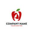 unique beauty logo template vector image vector image