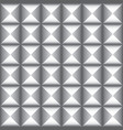 white and gray geometric texture design vector image