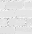 White brick wall seamless