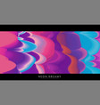 abstract neon dreams background trendy vector image vector image