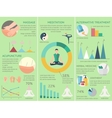acupuncture infographics set vector image