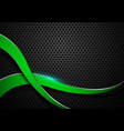 background sports abstract background green black vector image vector image