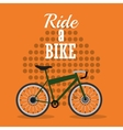 bike and cycling related icons image vector image vector image
