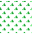 Broccoli pattern cartoon style vector image vector image