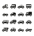 Cars icon set vector image vector image