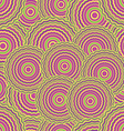 hypnose pattern vector image vector image