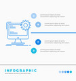 internet layout page site static infographics vector image vector image