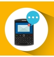 mobile cellphone receive message icon