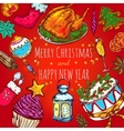 New Year Greeting Background vector image vector image