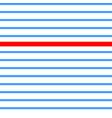 seamless retro texture blue line retro vector image vector image