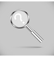 Metal loupe for searching vector image